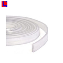 custom extruded profile pervious to light lamp silicone rubber strip