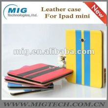 for Ipad mini case, PU Leather Case Wallet Stand Cover for ipad mini