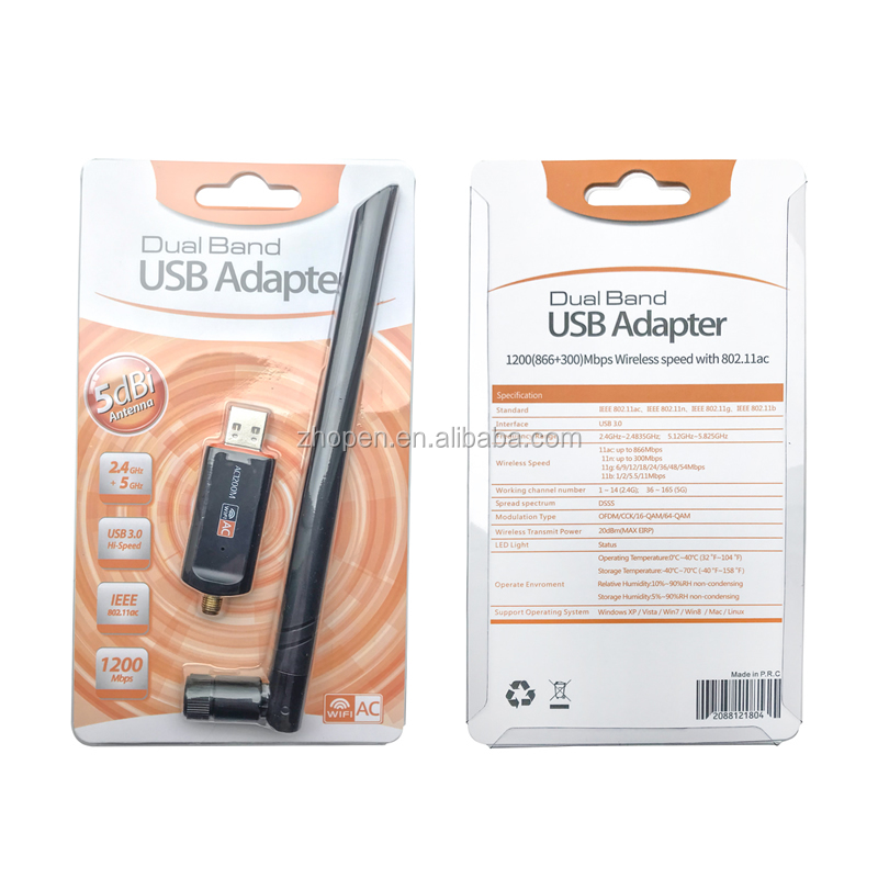 rtl8812cu wireless usb wifi adapter