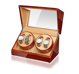 High Gloss MDF Wood The Best Quality Watch Winder Case With Acrylic
