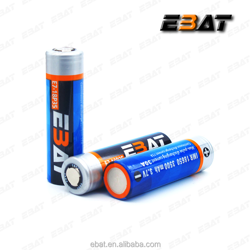 18650 li polymer battery full power battery from ebat