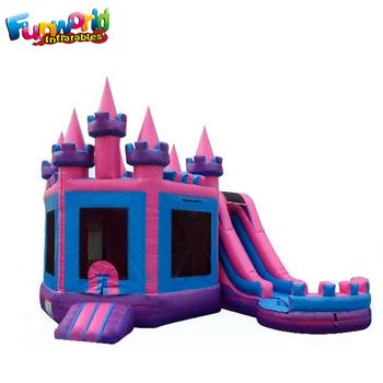 Partai Beku Castle Melompat N Splash Melompat Istana Dengan Kolam