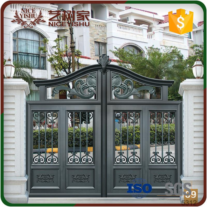 Decorative driveway gates main gate design home yard main for Decorative main door designs