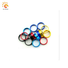 Bike Parts for Fork Headset Aluminum Alloy Bicycle Spacer Gasket