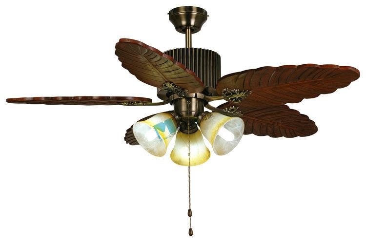 Fashion Antique Fan Lamp Modern Rustic Ceiling Fan Lights