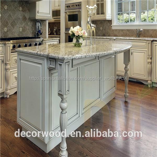¡¡¡ Caliente !!! Mueble de madera para cocina fábricado en China tipo  estándar americano