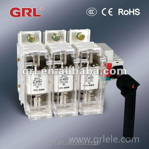 Cubicle type switch disconnectors fuse