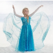 Retail, 2015 New  children clothes Party Dress For Girl  Princess Dresses Vestidos Upscale elegant evening dress free shipping
