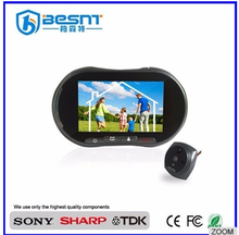 Best quality 4.7 Inch night vision 10m Photo-shooting GSM card digital door peephole viewer BS-MK31