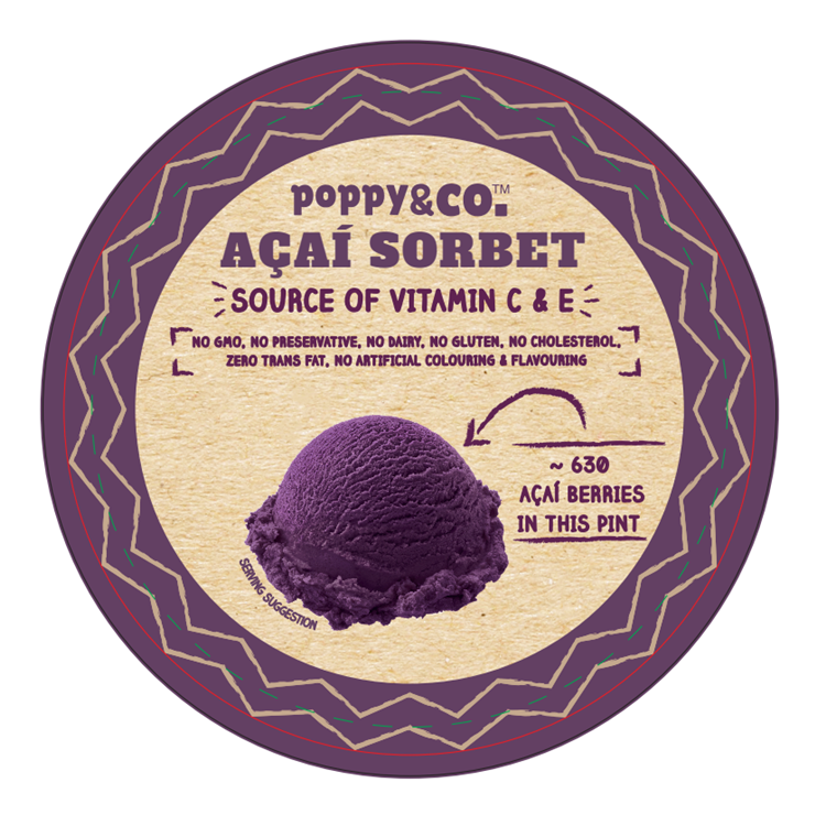 Singapore Food Suppliers Acai Sorbet