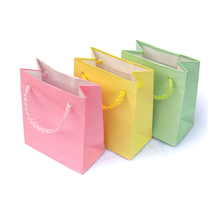 Arte di carta riciclabile shopping bag con logo personalizzato