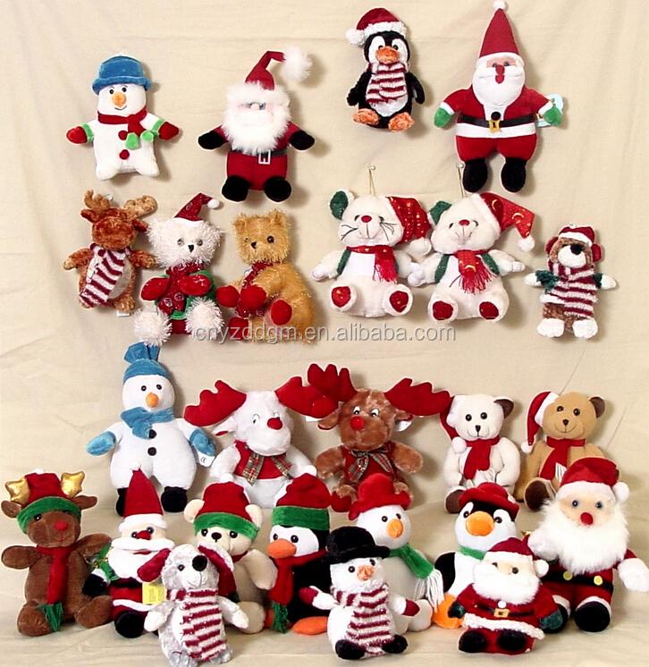 Christmas Teddy Bear Ornaments,Teddy Bear Christmas Ornaments,Plush ...