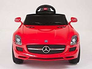 SMART DEALS NOW Mercedes Benz SLS AMG 6V Kids Ride On Battery Powered Wheels Car / Remote Control - RED