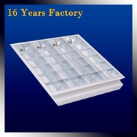 Buy T8 fluorescent surface mounted louver fixture in China on ...