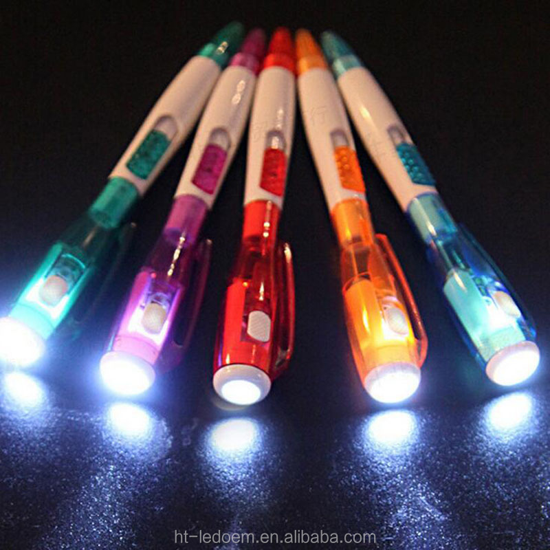 Most selling products luminous 6 led flash light <strong>pen</strong>