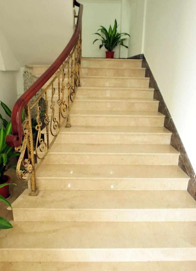 Plus populaire ventes chaudes personnalis flottant escalier de marbre marbre - Escalier flottant prix ...
