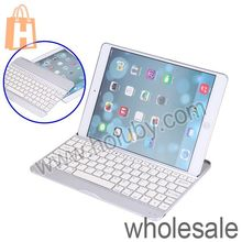 White Bulit-in Battery Wireless Mobile Bluetooth Keyboard for iPad Air with a USB Charging Cable