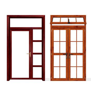 Custom Oval Glass Entry Door Glass Inserts Aluminum Front Entry Door