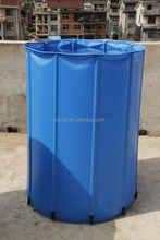 Garden plastic collapsible water tank/rain barrel/rain water tank-500L