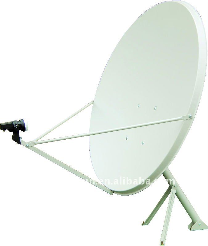 Satellite Dish Antenna Ku Band Offset 90 x 100cm