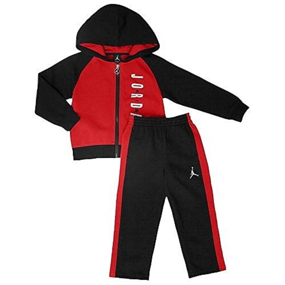 9d0addd8fcc118 Get Quotations · Nike Air Jordan Fleece Hoodie   Active Sweatpants Set  -Baby Boys 18M