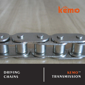 B series roller chains with straight side plates