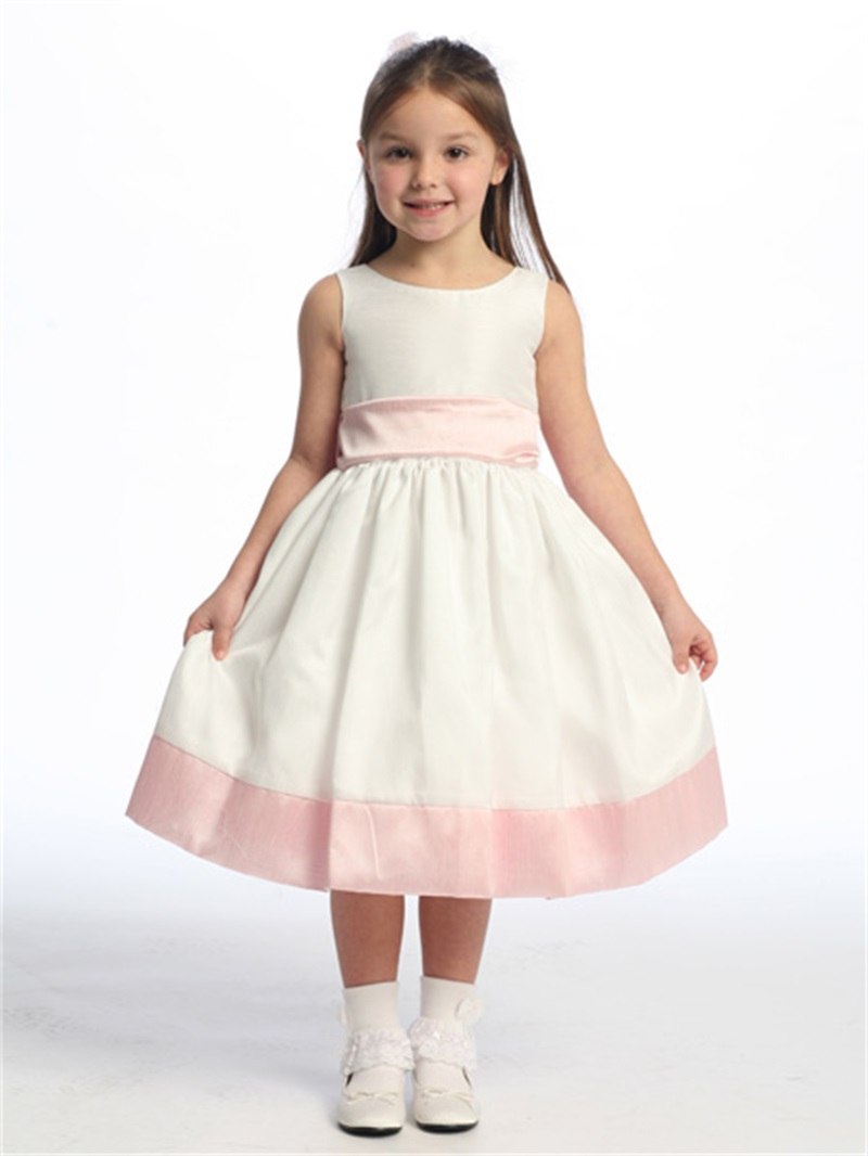 Cheap flower girl dress for cheap find flower girl dress for cheap get quotations fast shipping ivory and pink cheap flower girls dress 2015 little girl pageant dress satin vestido izmirmasajfo Images