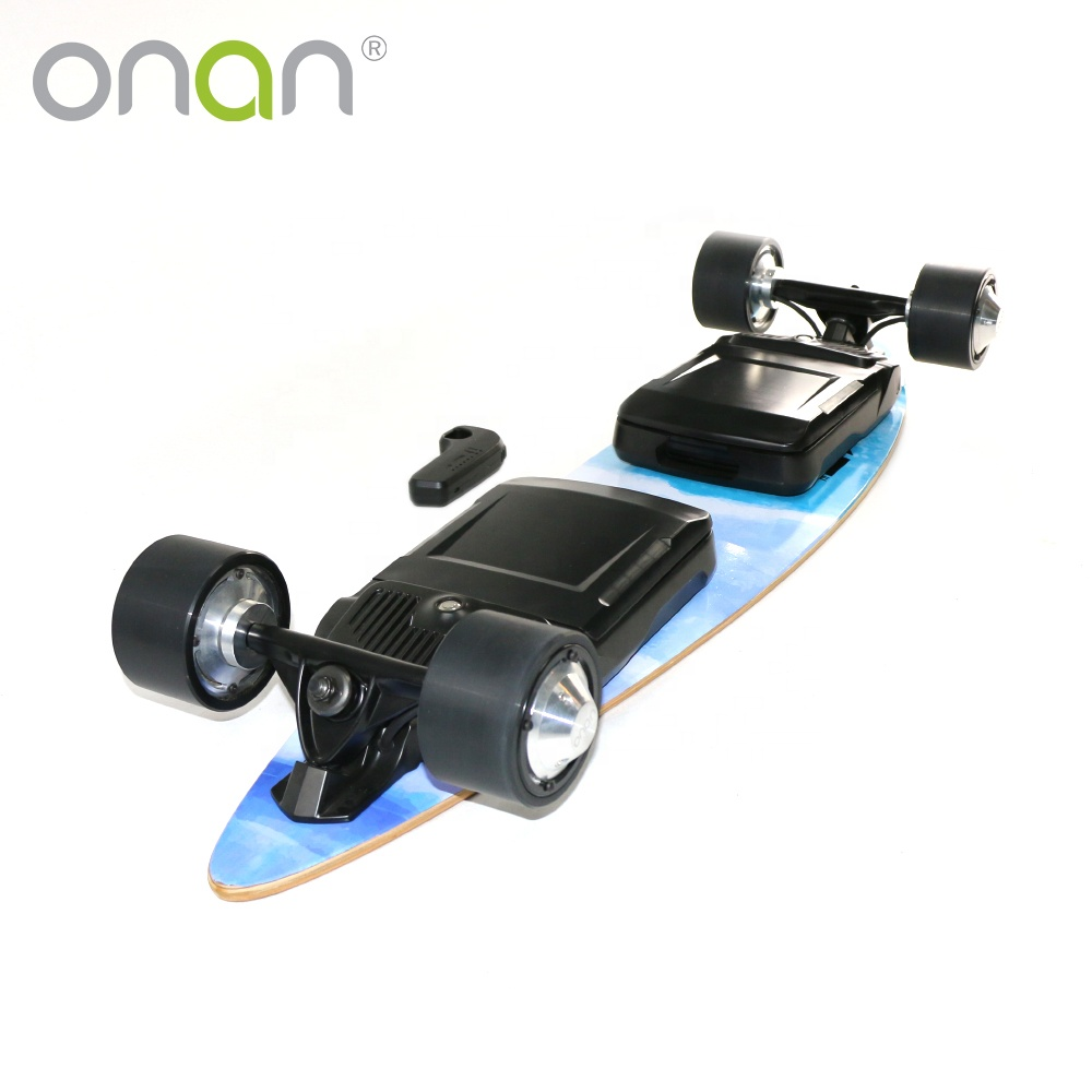 Onan X2 4 Wheel Drive Electric Skateboard X3 4wd Longboard For