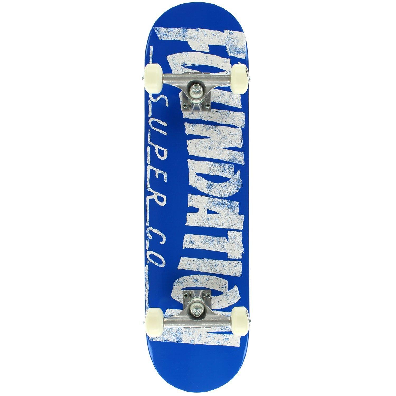 Foundation Thrasher Complete Skateboard -8.0 Blue