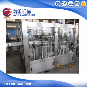 Round Small Bottle Mineral Spring Water Bottling Machine