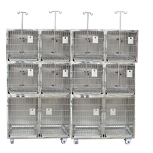 Customized dog cage kennel Modular Stainless Steel Pet Dog Suite Kennel Hospital Large Pet Cages