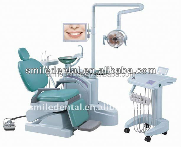 2017 new type Dental Supply Foshan ANLE hot sale folding dental chair/electrically dental chair