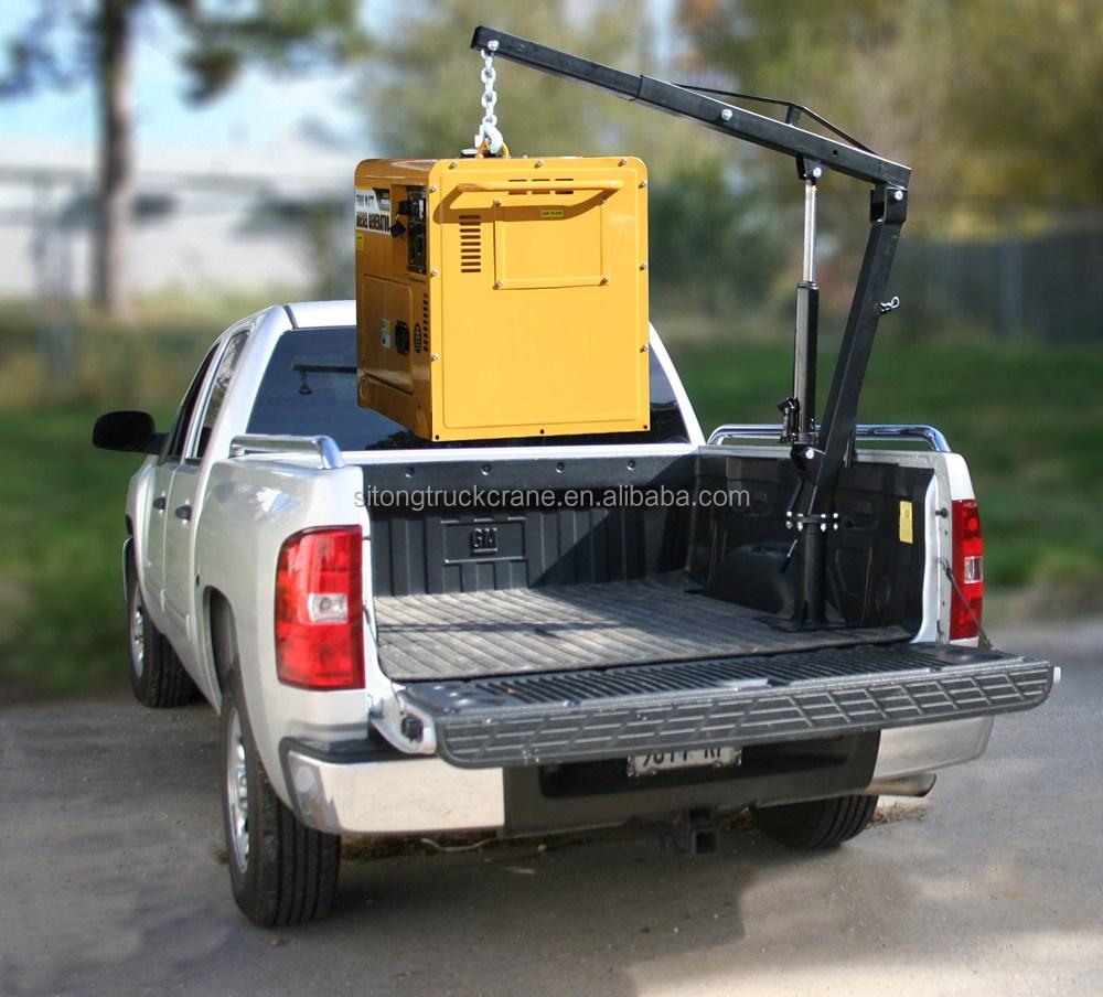 Stsq8b Mini Lift Truck Telescopic Pickup Truck Boom Lift
