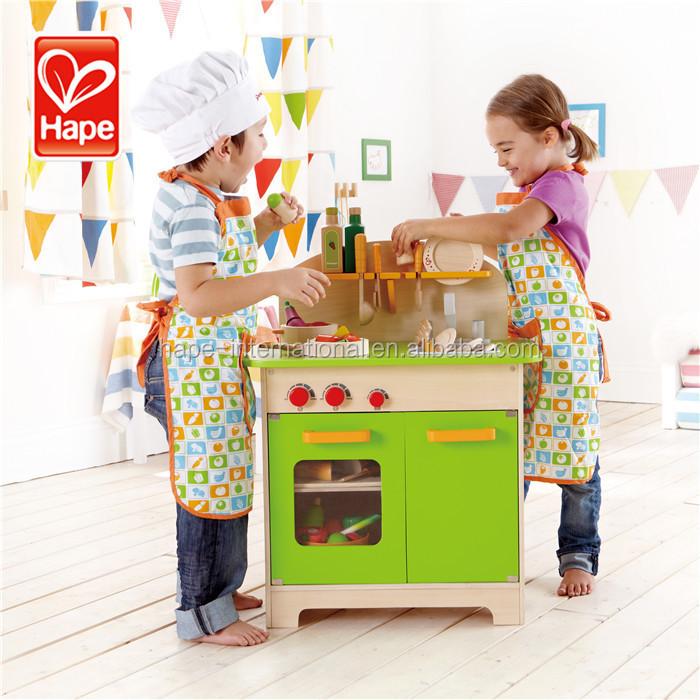 Watergedragen verf gepolijst speelhuis kinderen houten keuken ...