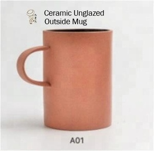 Outside Unglazed Mug Ceramic Beer Mug Promotional Mug