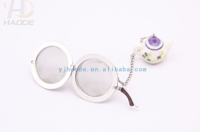 Stainless Steel Wire Mesh Ball Tea Strainer