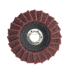 FANTECH Italiaanse materiaal medium grit rode oppervlak conditioning disc nylon flap disc voor polijsten rvs