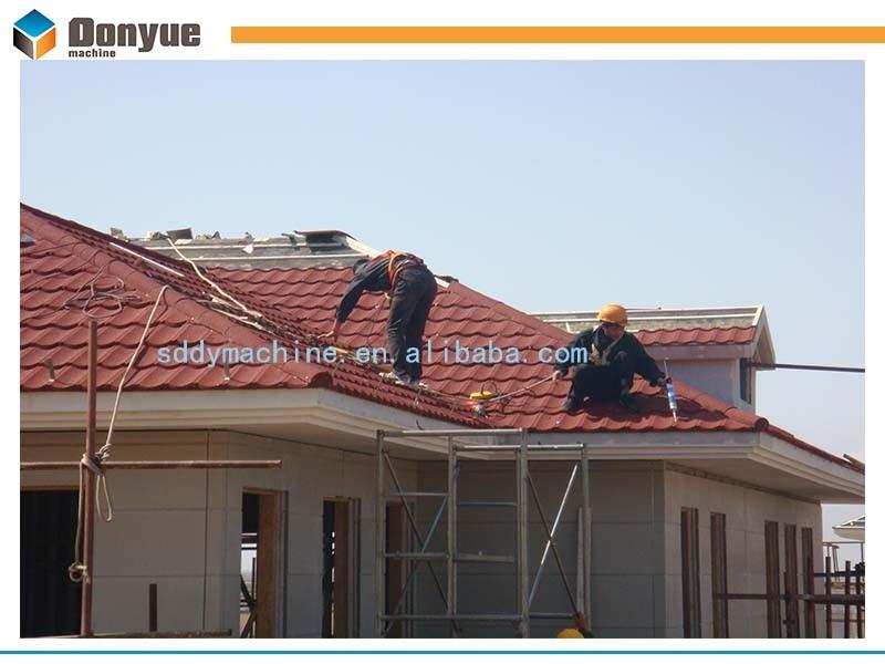 2017 Hot Sale Harvey Tile Stone Coated Metal Roof Tiles In