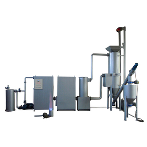 small energy biomass gasifier generator plant