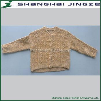 Fashion Cardigan Free Knitting Patterns Children Sweaters New Design