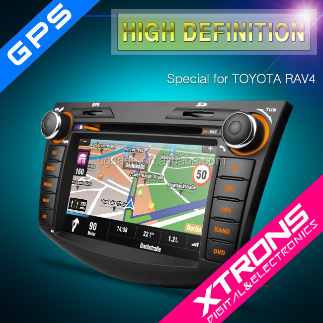 "7"" Digital Touch Screen car dab radio for toyota rav4 with dvd gps"