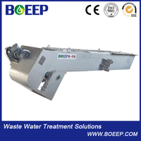 Printing And Dyeing Wastewater Treatment Solid Liquid Separator Rotary Mechanical Fine Bar Screen
