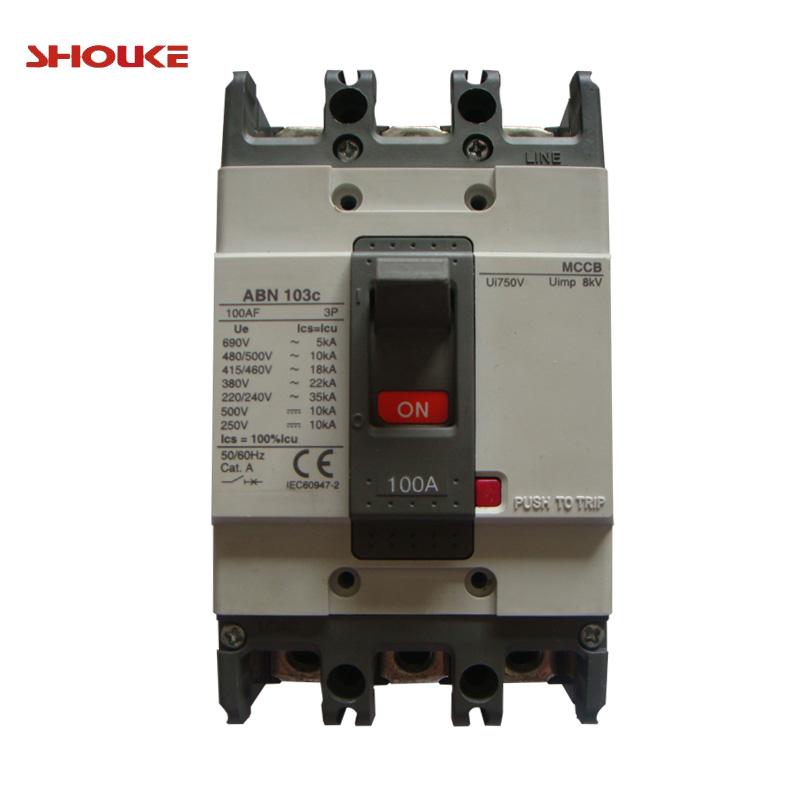 Mccb 2p 15amp 20amp 30amp Abs33c Single Phase 30amp Moulded Case ...