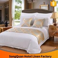 luxury 300 thread count 100% egyptian cotton hotel flat sheet