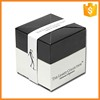 Customized handmade elegant white cardboard packaging boxes