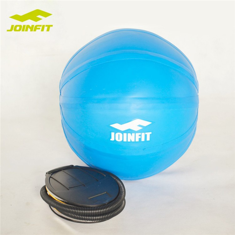 JOINFIT PVC Fitness Ball, Springender Ball, Slosh Ball mit Pumpe