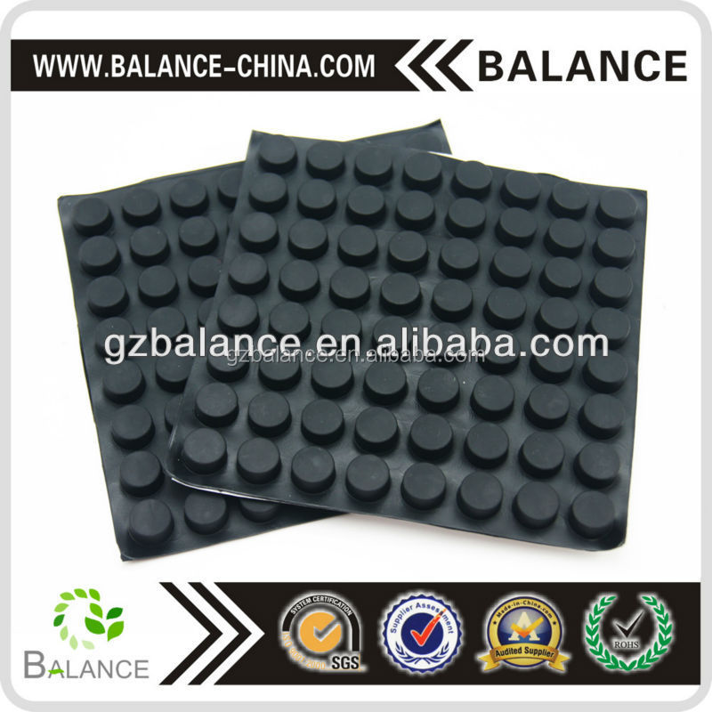 adhesive backed silicone rubber feet/ non slip silicone bumper pads trade insurance factory