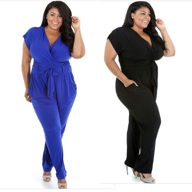 Buy All White Women Jumpsuits And Rompers Short Sleeve V Neck Sexy