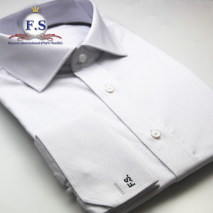 high end formal 100 cotton pure white non iron bespoke dress shirt
