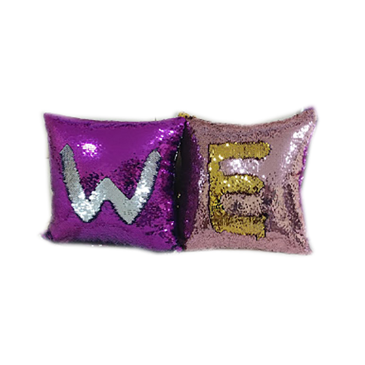 SZPLH High quality decorative polyester fiber mermaid pillow Christmas cushion